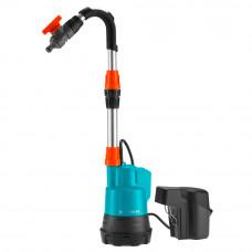 Насос бочковой для полива аккумуляторный Gardena 2000/2 Li-18