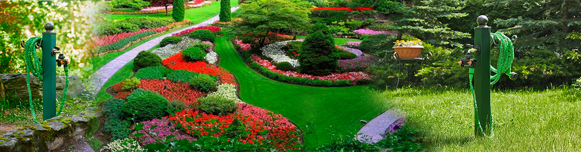 Водоразборные садовые колонки