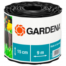 Бордюр черный Gardena 00532