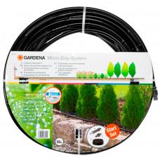 Шланг сочащийся 13 мм наземный с мастер-блоком Gardena 01385