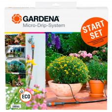 Комплект капельного полива для терасс Gardena 01399