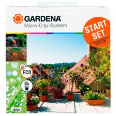 Комплект капельного полива для терасс Gardena 01401