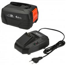 Комплект аккумулятор + зарядное устройство Gardena 14908
