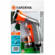 Комплект Gardena 18312-33 для полива: пистолет и коннектор