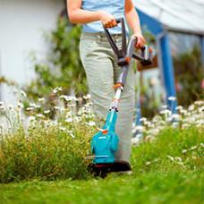 Садовые триммеры, травокосилки