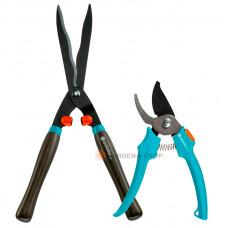 Комплект ножницы для живой изгороди + секатор Gardena 00391-30
