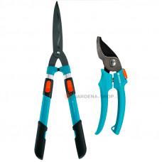 Комплект ножницы телескопические + секатор Gardena 00394-30