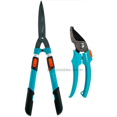 Комплект Гардена ножницы для живой изгороди телескопические Comfort 700 T + секатор Gardena