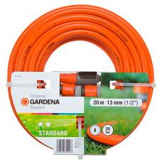 """Садовый шланг Gardena STANDART 13 мм (1/2""""), 20 м с комплектом для полива"""